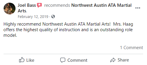 Adult1, Northwest Austin ATA Martial Arts Austin TX