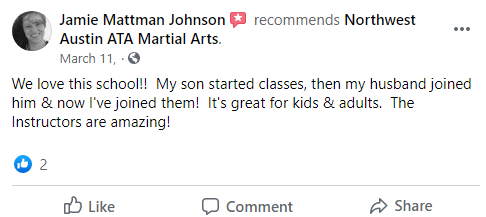 Kids3adults3, Northwest Austin ATA Martial Arts Austin TX