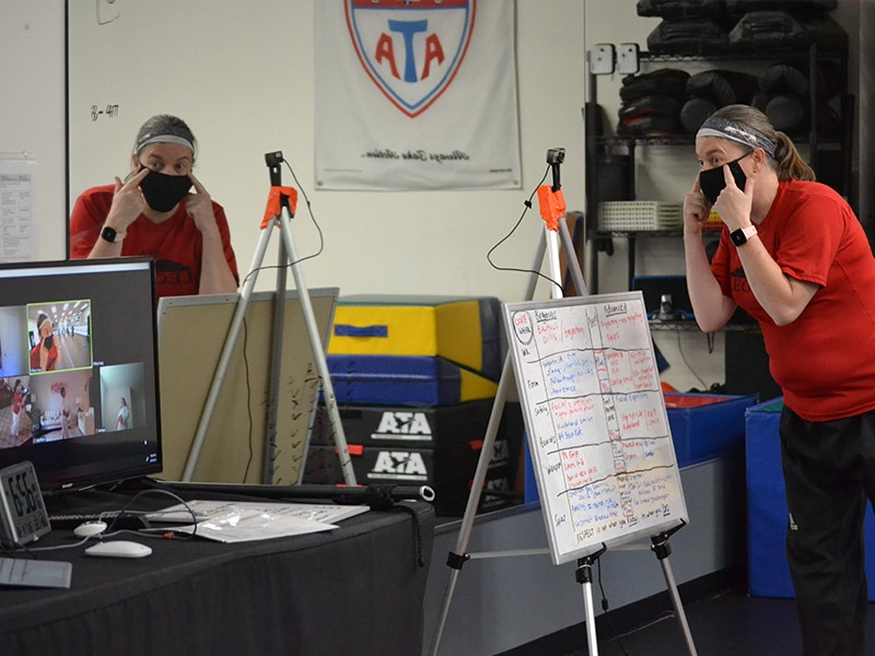 live streamed virtual martial arts classes in austin